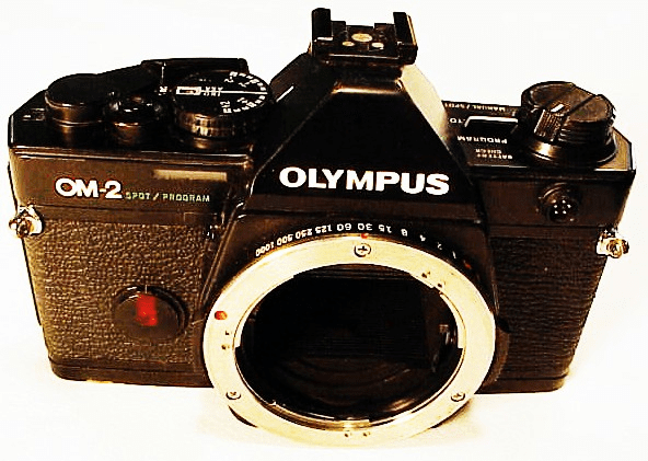 Olympus OM2 with Program, Spot, and Manual Settings