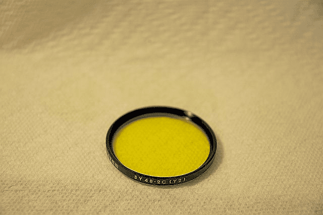 Olympus Pen 43mm Yellow Filter, New.