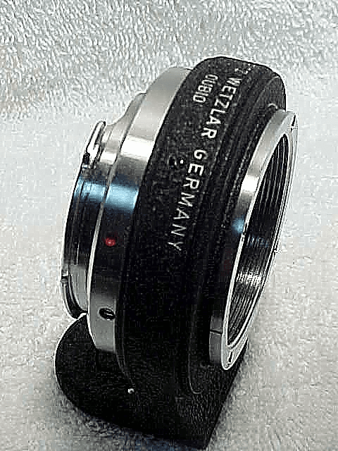 OUBIO (1959) Leica VISO II Adapter to Screw Mount lenses (No 115)
