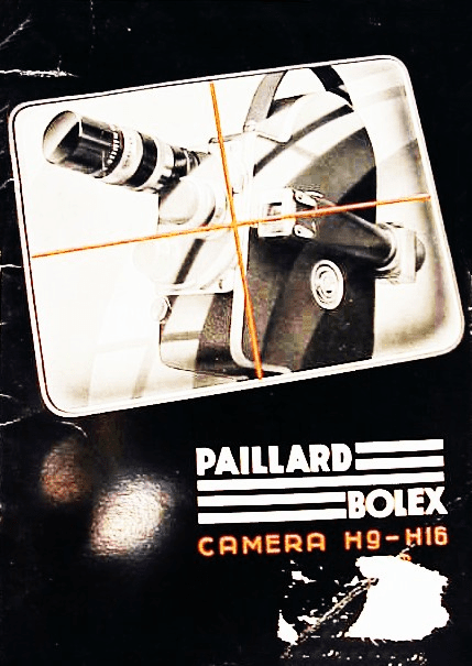 Paillard Bolex Camera H9-H16 H8 Instructions 22pg  (English) (xerox)