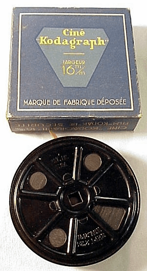 Paris Sights 16mm c1930's Cine Kodagraph (No 8)