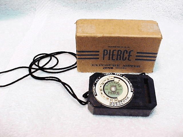 Pierce Cine Exposure Meter by Maxim Instrument CO Trenton NJ