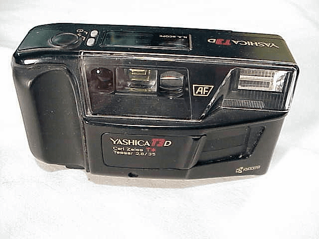 "<b><font size=""4""><u>Point & Shoot</u></b></font size><br>(film cameras)"