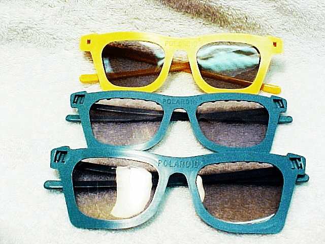 Polaroid Glass for Stereo Viewing (3 pairs)