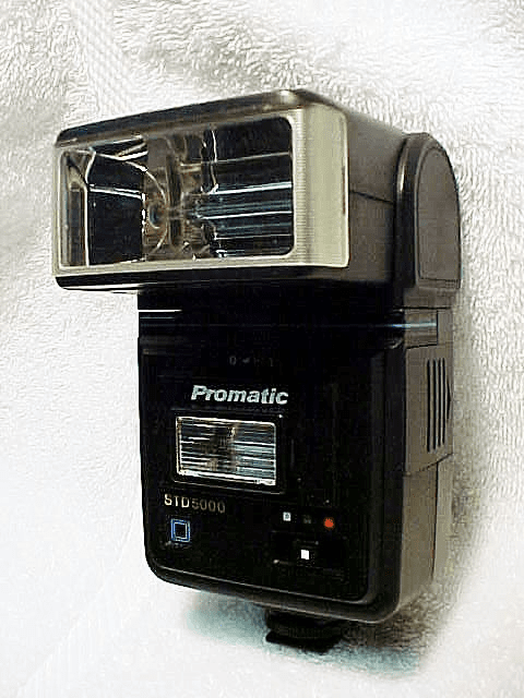 Promatic STD 5000 Flash for Richo,OM,Nikon,Canon,and Pentax