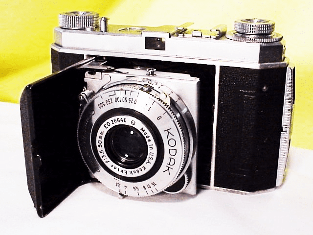 Retina I with 50mm f3.5 Ektar (made in USA lens) in Compur Rapid