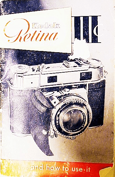 Retina IIIc Instruction Booklet (original)