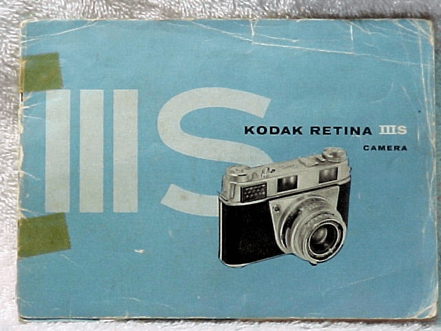 Retina IIIS Instruction Booklet (xerox copy)