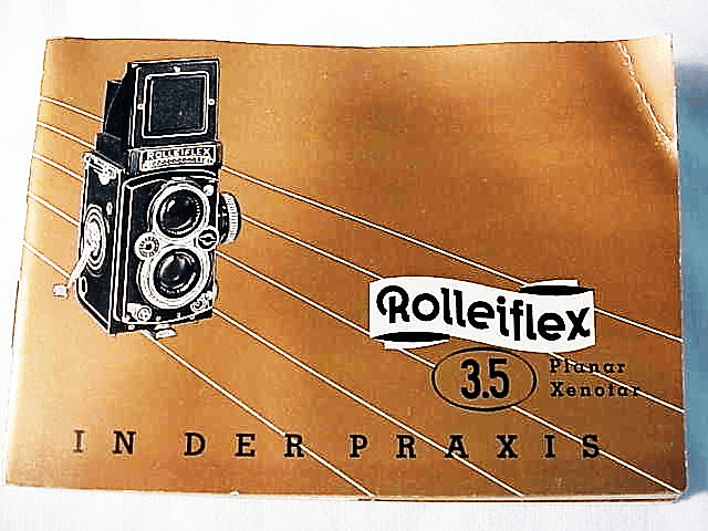 Rollei 3.5 Instructions, 59 pgs 1956 (xerox)