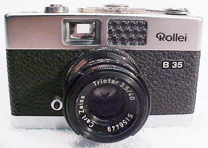 <u>Rollei 35 Cameras an article</u> <br>By James Vilett