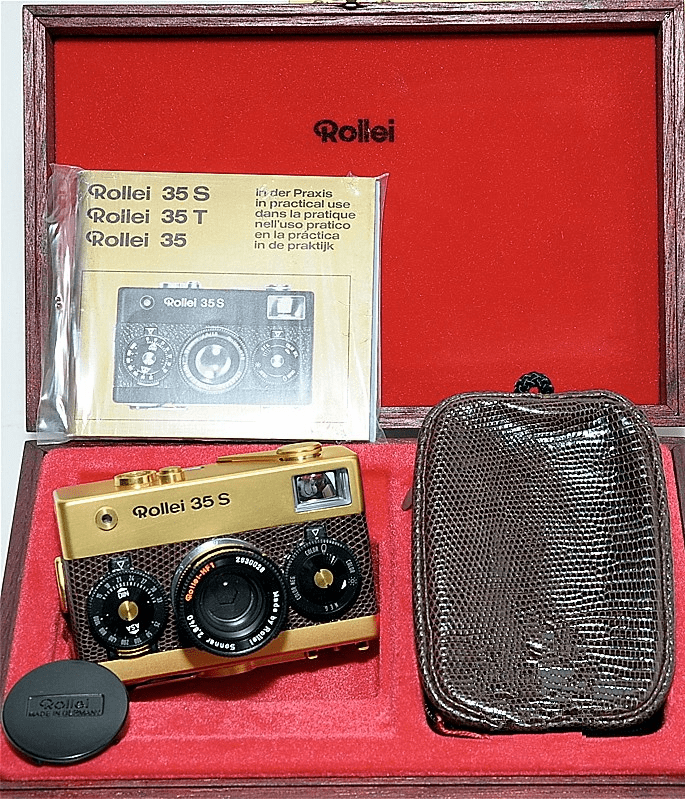 Rollei 35S Gold Pesentation Outfit