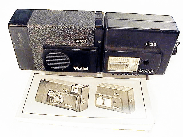 Rollei A26 Camera with Flash
