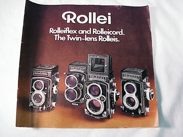 Rolleiflex & Rolleicord The Twin-Lens Rolleis, 19pg 1971 (xerox)