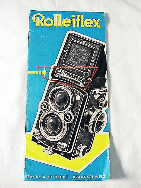 Rolleiflex TLR Pamphlet, 20 pgs, 1957 (xerox)