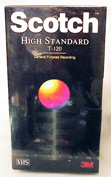 Scotch 2 Hour High Standard VHS Tape