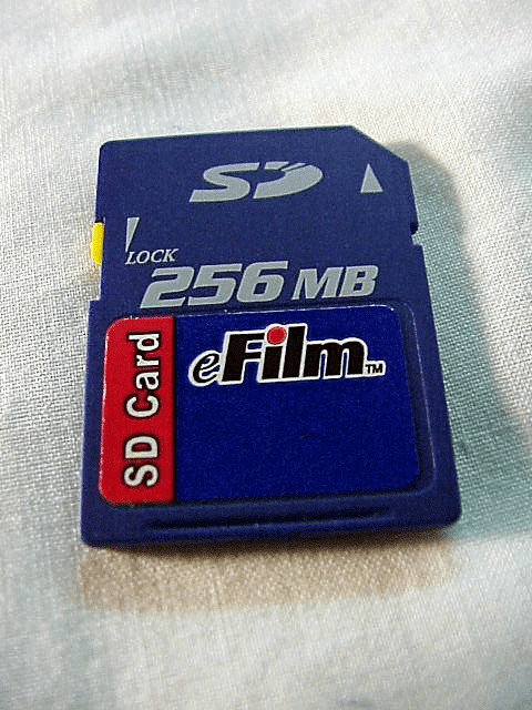 <center><u>SD Cards<br>New and Used</u></center>