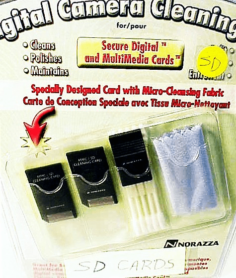 Secure Digital/MultiMedia Camera Cleaning Kit (new)