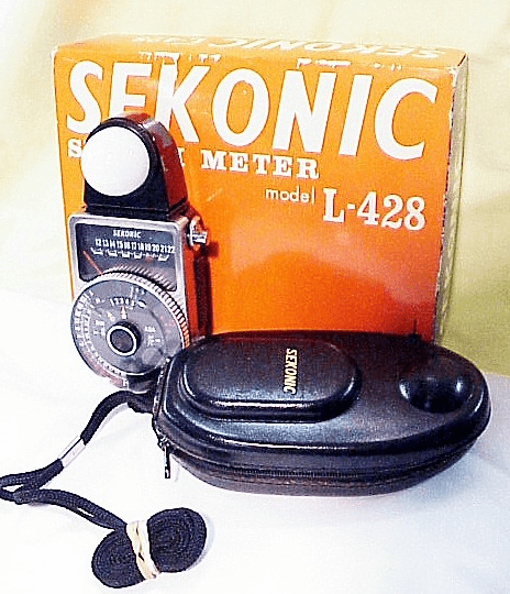 Sekonic L-428 Light Meter with Dome and Case