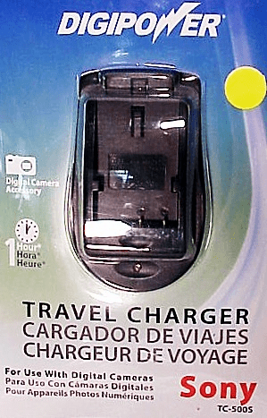 Sony Digipower Travel Chargers for Digital Batteries (new)