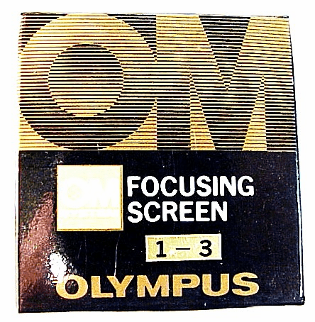 Split image-matte screen (1-3)for Olympus OM1/ 2 (No13)