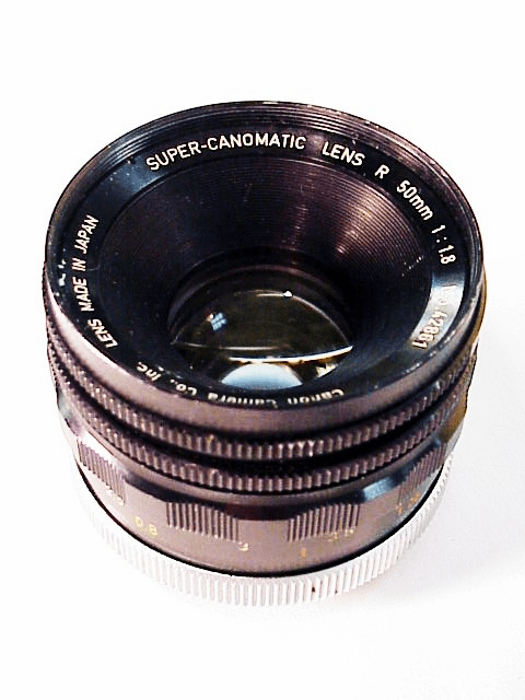 Super-Canonmatic R 50mm f1.8 R Lens