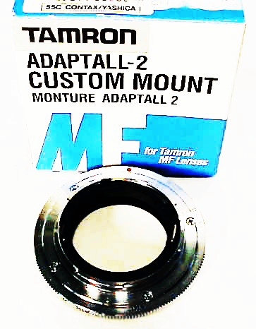 Tamron Adaptall 2 Mount for Contax/Yashica (new) (No 8A)