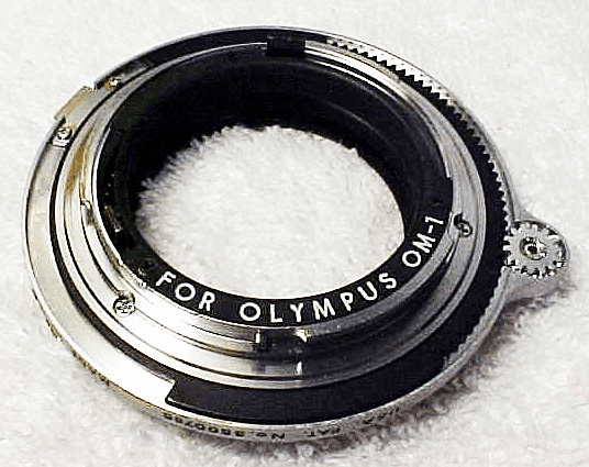 Tamron Adaptall Mount for Olympus OM1  (No 28)<br>(broken tab)