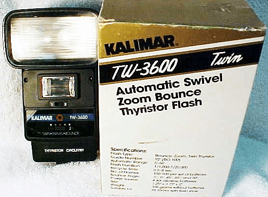 TW-3600 Kalimar Twin Flash for Most Cameras ('new')