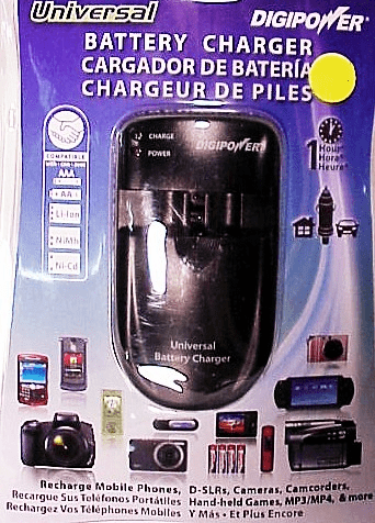 Universal Digipower Travel Chargers for Digital Batteries (new)