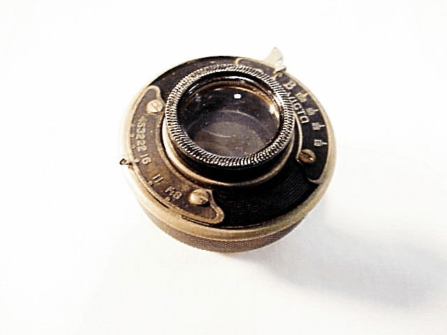 Unmarked Optic in Victo Shutter (for 2 1/4 x 3 1/4)