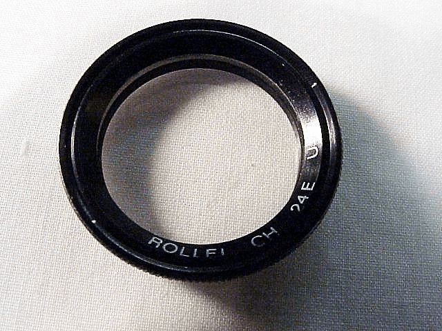 UV for Rollei 35 Cameras with f3.5 Lenses