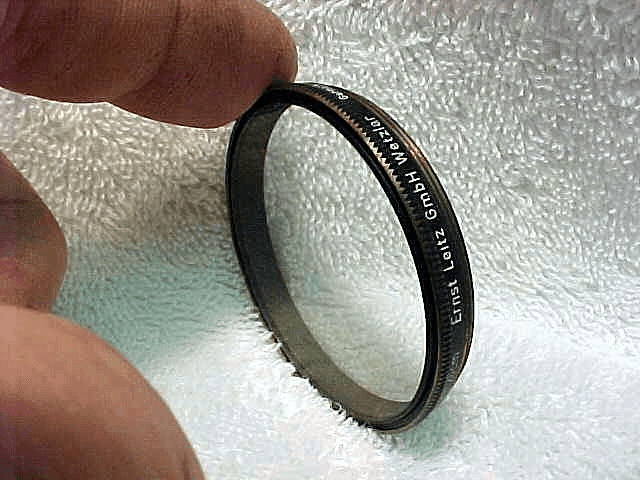 UVa Leica filter for the 20cm Telyt  (48mm) (sl marks)