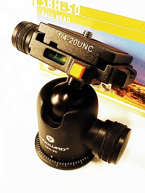 Vanguard Magnesium Alloy Ball head with quick release & 2 levels
