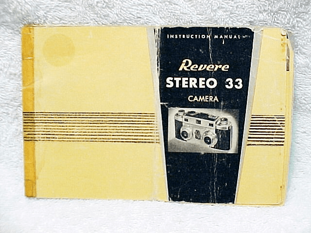 VARIOUS TYPES of Stereo Instructions (Xerox Copy)