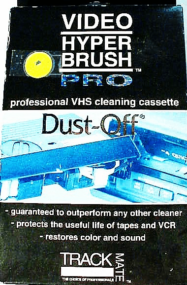 VHS Dust-Off Cleaning Cassette (new)