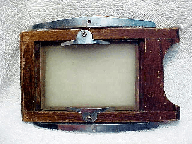 "View Camera 2 1/4"" x 3 1/4"" Wooden Focusing Panel (No 4)"