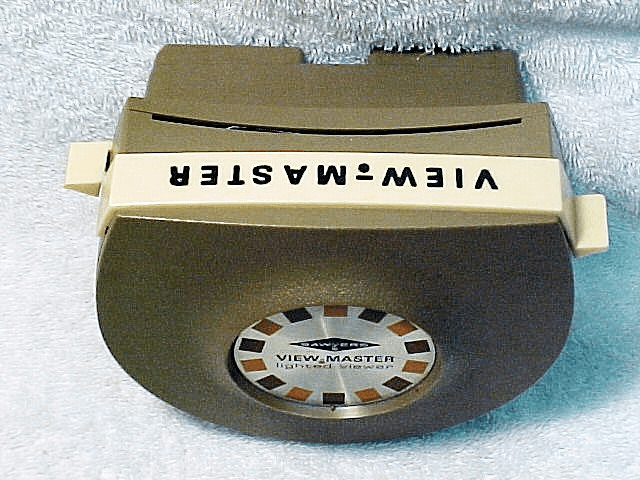 View-Master Lighted Stereo Viewer