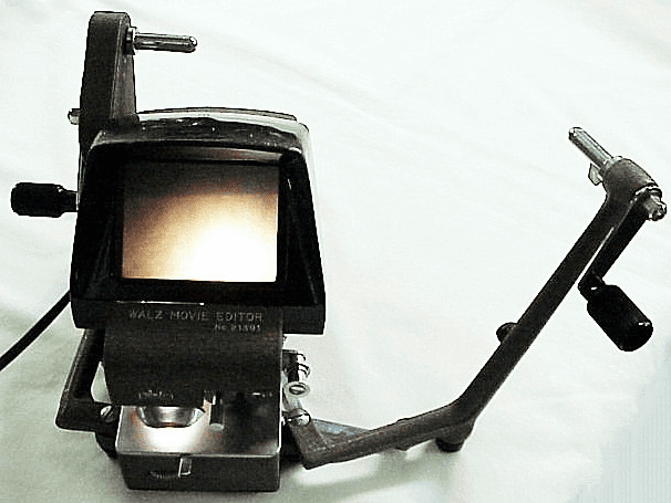 Walz 8mm Film Editor with tape splicer