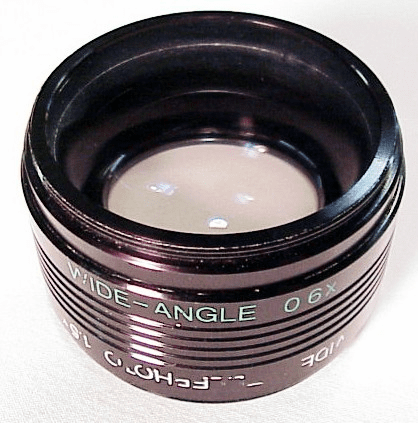 Wide Angle 0.6X /Telephoto 1.5X  Flip over lens (46mm)