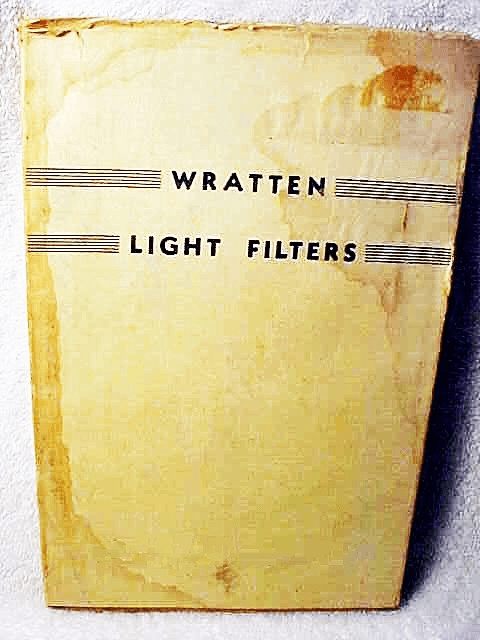 Wratten Light Filters   92pgs 1938 (xerox)
