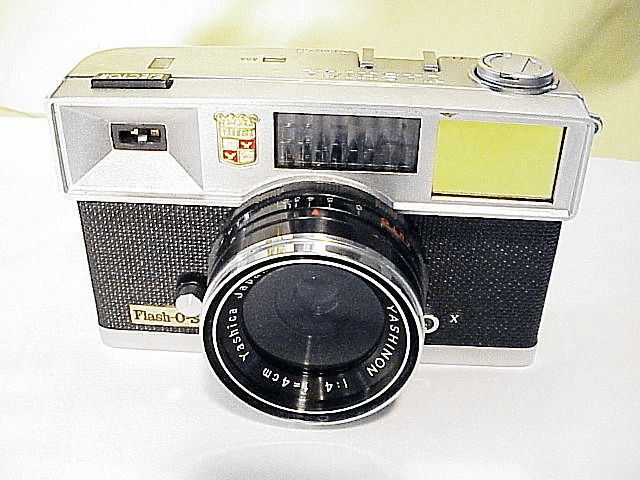 Yashica Flash-O-Set Rangefinder Camera (1961)