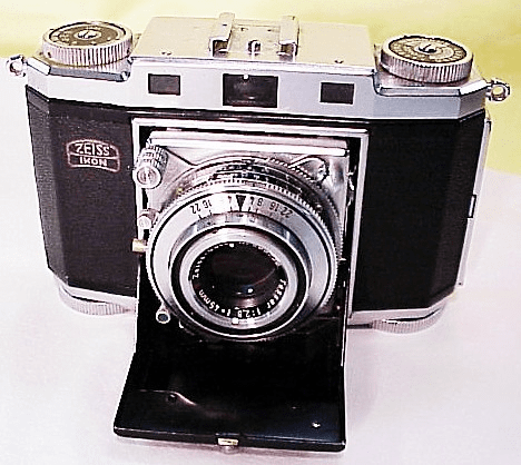Zeiss Folding Contina 524/24 W/ 45mm f2.8 Zeiss Opton T Tessar