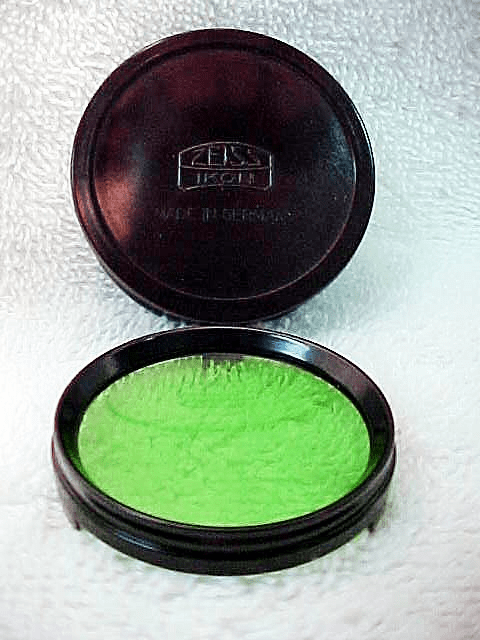 Zeiss Green Filter for 80mm f2.8 Super Ikonta B Tessar