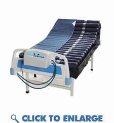 PM8080-R Alternating Pressure Mattress With Remote