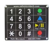 Hard Mounted Keypad <br>(Box of 5)