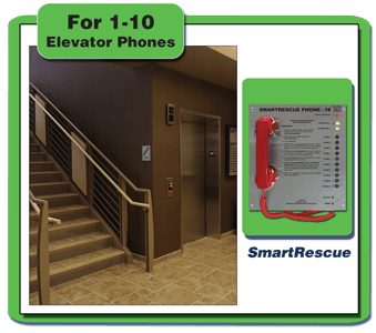 SmartRescue (1-10 Elevator Phones)