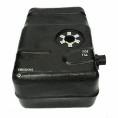 ( 0011 ) Plastic Gas Tank for 1962-1977 Jeep J-truck with Large Side Filler Pipe (exact fit 1976-1977), 18 Gallon Tank by MTS
