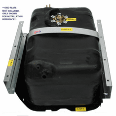 ( 0051XL ) Plastic Gas Tank for 1978-1986 Jeep CJ Models, Extra Large 21 Gallon Tank by MTS