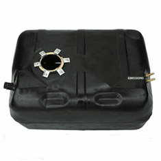 ( 0062 ) Plastic Gas Tank for 1987-1990 Jeep Wrangler YJ with 15 Gallon Tank with Round Sending Unit Hole and with a Fuel Bowl by MTS
