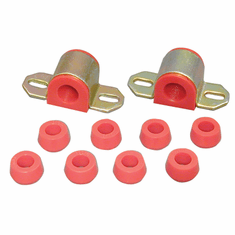 """( 1-1110 ) Red Polyurethane Swaybar Bushing Kit for Jeep 1976-86 CJ With 7/8"""" Diameter Bar by Prothane"""